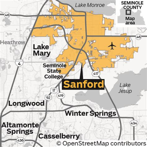 sanford florida map historic sanford on the rise with rejuvenated downtown