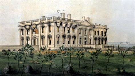 history of the white house who burned down the white house the enchanted manor