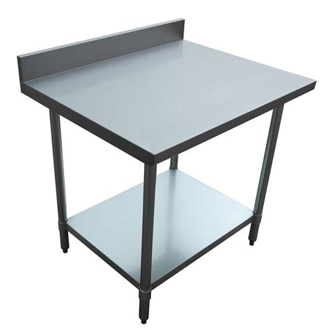 Kitchen Stainless Steel Table Sportsman Stainless Steel Kitchen Utility Table Sswtable The Home Depot