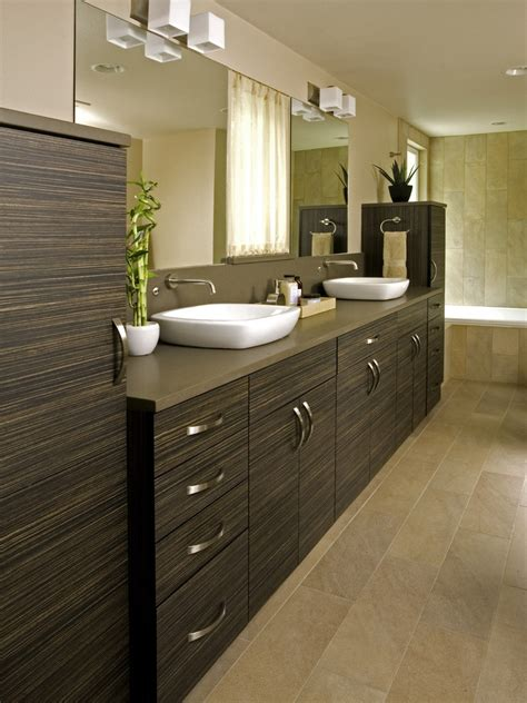 Bathroom Sink Cabinets Bathroom Contemporary With Double Modern Sinks For Bathroom
