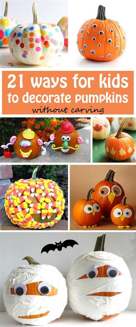How To Decorate A Pumpkin Without Carving by 17 Best Images About Pumpkin Crafts On