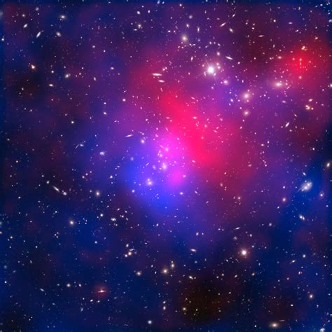 matter universe x rays matter and galaxies in cluster abell 2744