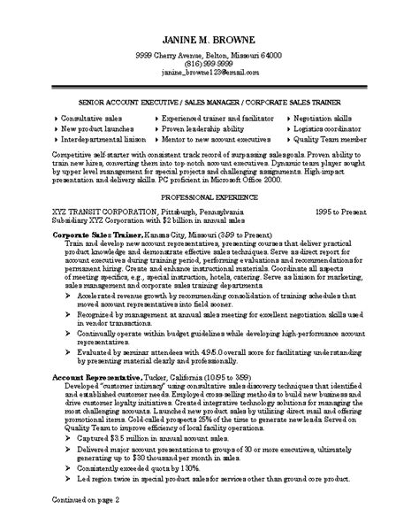 Best Professional Resume Sles Resume Writing And Resume Sles By Abilities Enhanced To Boost Career Success
