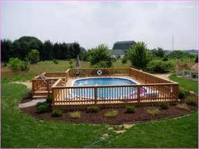 backyard ideas with above ground pool backyard landscaping ideas above ground pool home dignity