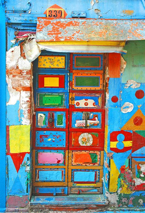 colorful door these are the most colorful imaginative doors i ve seen