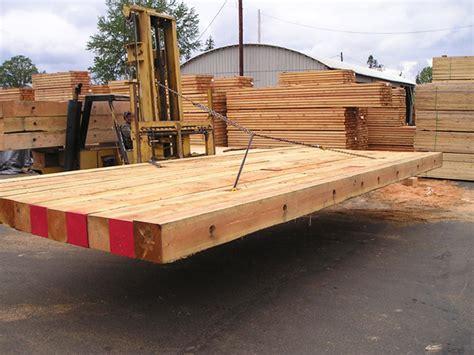 Hardwood Crane Mats by Industrial Lumber Pacwest Lumber