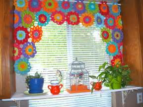 Crochet Kitchen Curtains Once Upon A Pink Moon Put The Hook