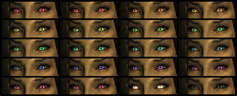 skyrim eye color c missanithrope s mods