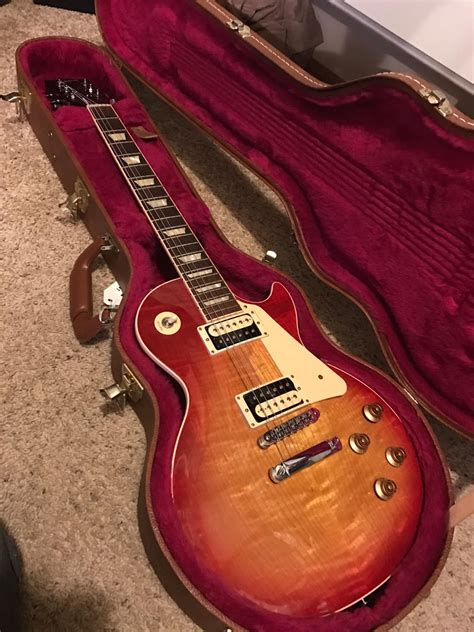 les paul traditional pro ii gibson les paul traditional pro ii 2014 heritage cherry