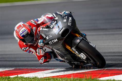 test motogp sepang ducati test rider stoner tops 1st official 2017 motogp