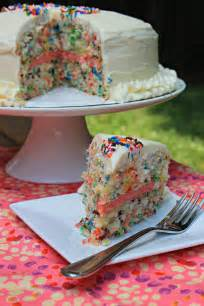 carolina charm easy funfetti layered birthday cake