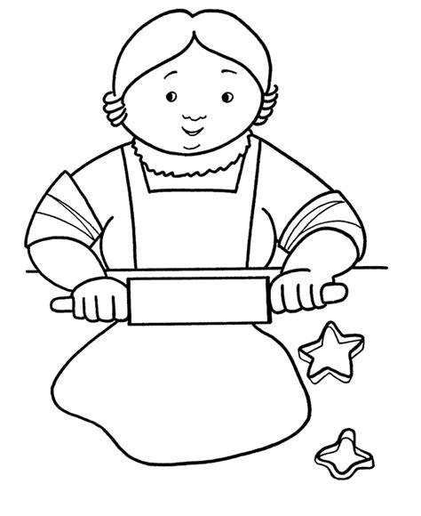 coloring page christmas cookies cookie coloring sheet coloring home