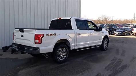 2016 white ford f150 t6366 oxford white 2016 f 150 supercrew 4x4 xlt 2 7l 302a