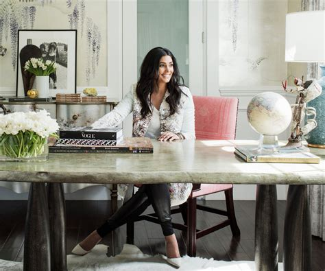 instyle home decor photos rachel roy s impeccable home office instyle com