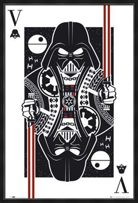 darth vader playing card poker cards pinterest