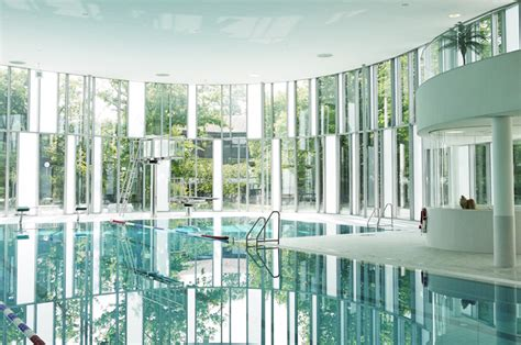 Pictures Of Home Decorations Ideas daylit indoor swimming pool in germany is enveloped in a