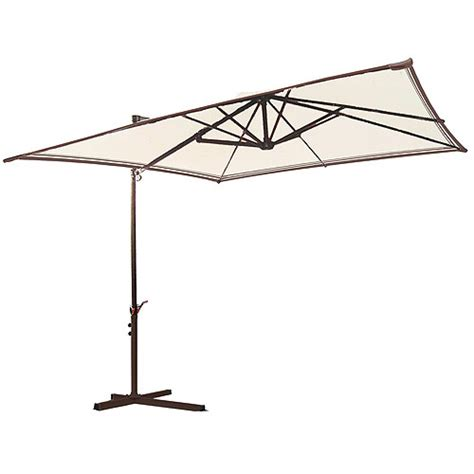 Walmart Patio Umbrellas Mainstays Sand Dune Offset Umbrella Walmart