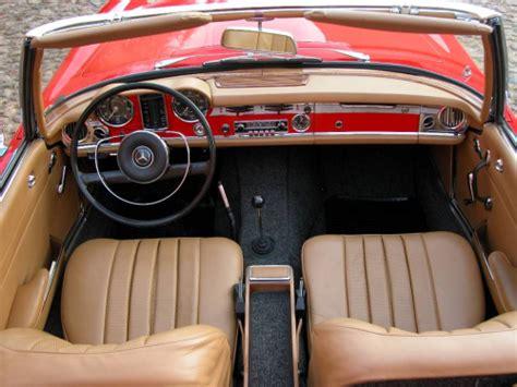 Mercedes 280sl Interior by Mercedes Sl Pagoda A Controversial Design Idea