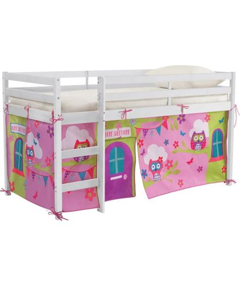 Shorty Mid Sleeper Bed With Tent by 1000 Ideas About Childrens Mid Sleeper Beds On