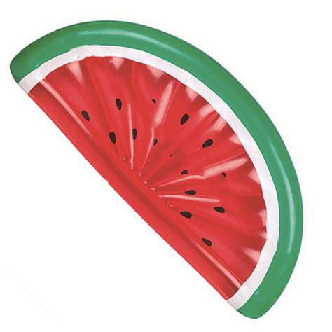 giant inflatable watermelon fruit slice swimming sport