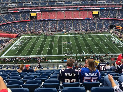 gillette stadium section 332 gillette stadium section 332 new england patriots
