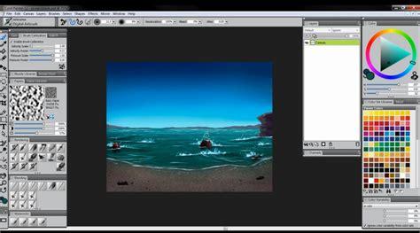 tutorial coreldraw photo paint 12 tutorial painter 12