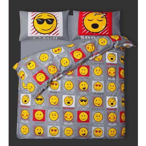 emoji quilt cover emoji expressions smiley face single duvet cover