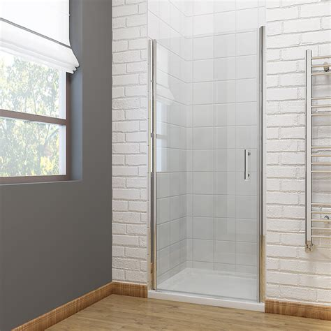 Pivot Shower Door 760 Frameless Shower Door Pivot Hinge Shower Enclosure Cubicle 700 760 800 900mm Ebay