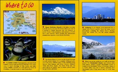 state brochure template wardlandia 50 states travel brochure