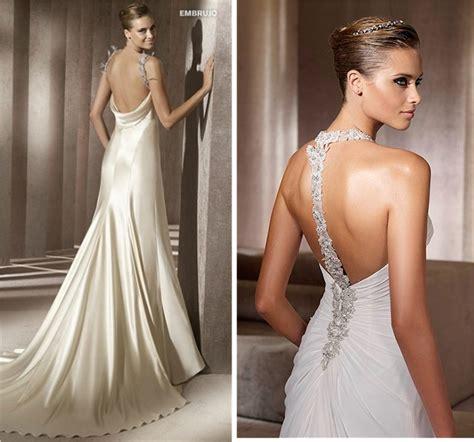 imagenes de vestidos de novia sin escote vestidos para poco busto
