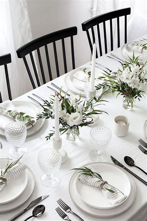 dinner table setting best 25 table settings ideas on table place