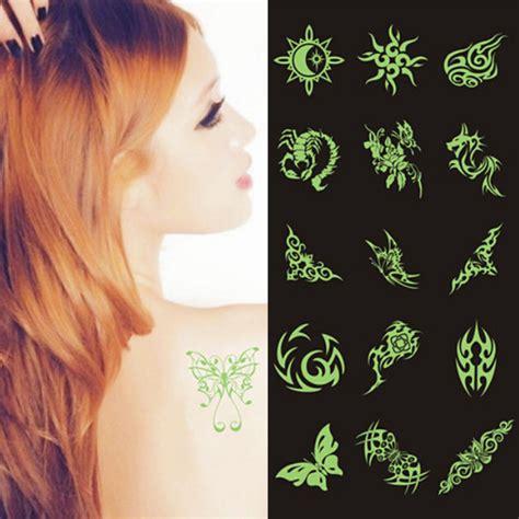 glow in the dark fake tattoo popular dark tattoo buy cheap dark tattoo lots from china