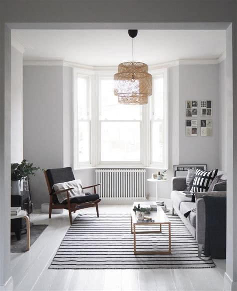 light grey painted room my scandi style living room makeover painted white