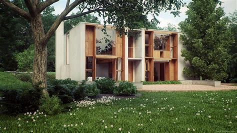 louis house louis kahns esherick house by ludvik koutny ronen bekerman 3d architectural