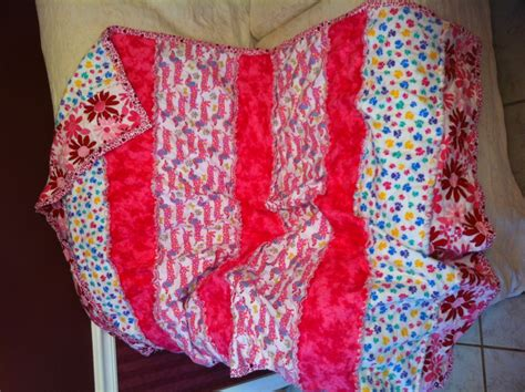 Fleece Quilts by Inspired Rag Quilts And Fleece Blankets Home
