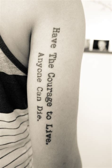 tattoo quotes for courage tattoo quotes about courage quotesgram