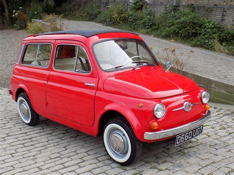 fiat 500 red classic chrome fiat 500 giardiniera 1966 d red