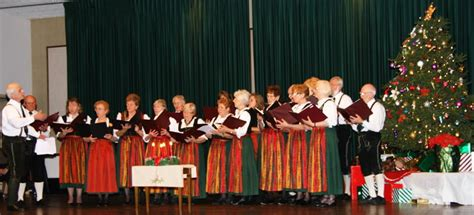 chor der hoffnung 2010 january lindenmaier weihnachtsfeier cleveland
