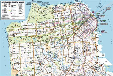 san francisco muni map pdf image gallery muni map