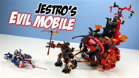 Lego 70316 Jestro S Evil Mobile Sparkks Buildable Figure lego nexo knights jestro s evil mobile set 70316 speed build review