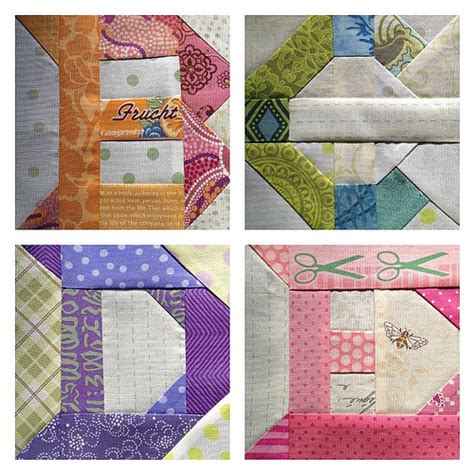 Patchwork Letters - patchwork letters for my sler from kumiko fujita s
