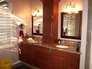 Countertop Bathroom Cabinet - countertop linen storage in the bathroom counter storage cabinet for all the electrical stuff