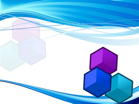 free 3d powerpoint template blue cube powerpoint template ppt backgrounds 3d blue