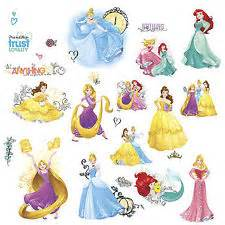 Disney Princess Toddler Bed Stickers Disney Princess Bedroom Decor Ebay