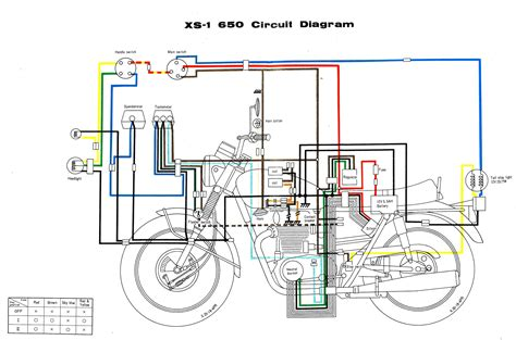xs650 simple wiring diagram wiring diagram sahife