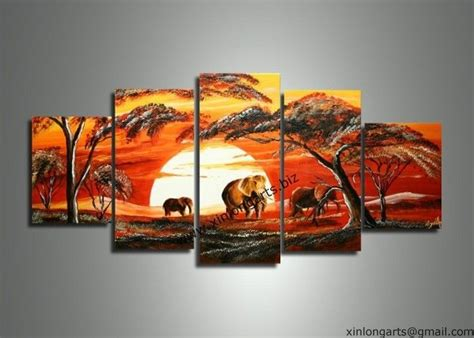 decoration painting group oil painting for decorative art paintings