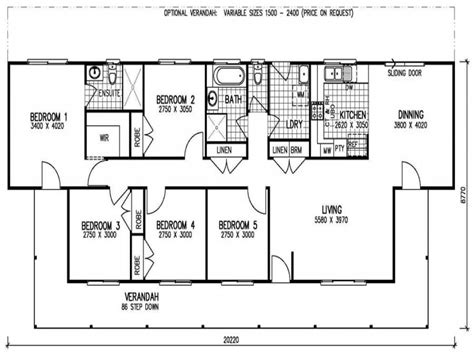 floor plans 5 bedroom house 5 bedroom 3 bath mobile home 5 bedroom mobile home floor