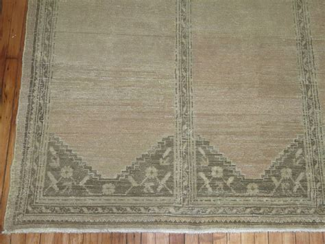 shabby rugs shabby chic antique turkish oushak rug for sale at 1stdibs
