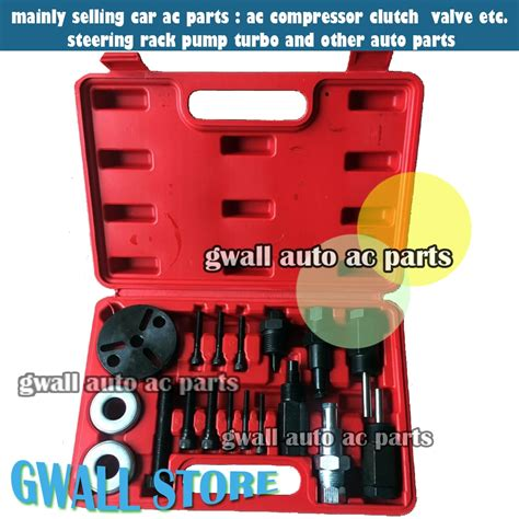 car ac compressor repairing tools  set  auto air