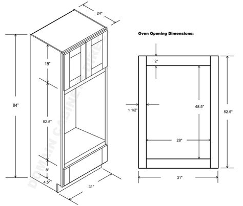 Universal Design Kitchen Cabinets by Double Oven Double Oven Cabinet For Sale
